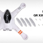 Walkera QR X350 Body Set